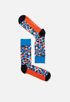 Happy Socks - Blue/Black socks - multi