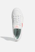 adidas Originals - Nizza Trefoil - crystal white / shock red / core black