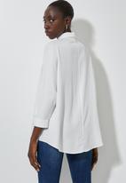 Superbalist - Dolman sleeve shirt - white