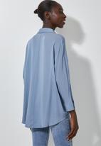 Superbalist - Dolman sleeve shirt - blue