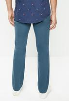 Tommy Hilfiger - Denton chino straight leg pants - blue
