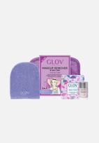 GLOV - Travel set - purple expert oily skin