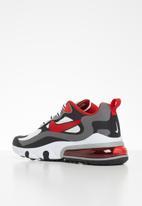 Nike - Air Max 270 React - black / university red-white-iron grey