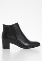 Butterfly Feet - Harlow 3 boot - black