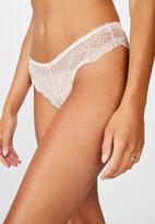 Cotton On - Cindy brasiliano brief -  pink