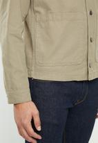 Jack & Jones - Galo coach jacket - khaki