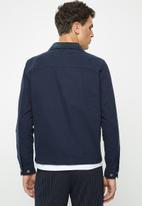 Jack & Jones - Galo coach jacket - navy