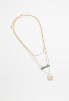 Rubi - Enlighten trinkets necklace - gold