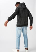 Cotton On - Studio zip thru - black fleck marle