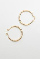 Superbalist - Alexa hoop earrings - gold