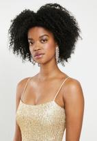 Blake - Sequin cami mini dress - gold