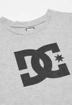 DC - Short sleeve star T-shirt - grey
