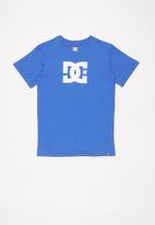 DC - Short sleeve star T-shirt - blue