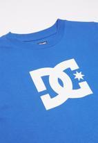 DC - Long sleeve star T-shirt - blue