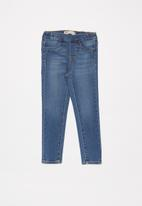 Levi's® - Levi's girls pull on jeggings - blue