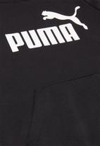 PUMA - Ess logo hoodie cotton - black