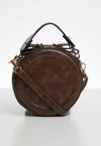 Superbalist - Brigitte round crossbody - brown