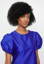 Blake - Taffeta mini dress - blue