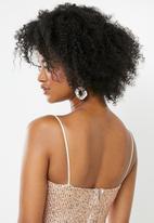 Blake - Sequin cami mini dress - rose gold