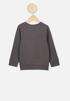 Cotton On - License crew - grey