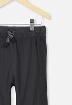 Cotton On - Brooklyn slouch pant - charcoal