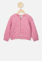 Cotton On - Brielle bomber - pink