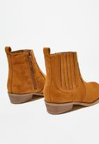 Cotton On - Western boot - brown