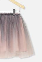 Cotton On - Trixiebelle tulle skirt - vintage navy & pink