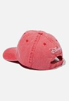 Cotton On - Mickey Mouse baseball cap - red