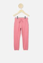 Cotton On - Keira cuff pants - pink