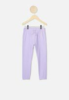 Cotton On - Keira cuff pants - purple