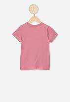 Cotton On - Lux short sleeve tee - pink