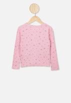 Cotton On - Bessie button through top - pink