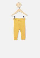 Cotton On - The rib legging - yellow