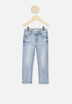 Cotton On - Ollie slim leg jean - light blue wash