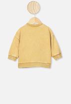 Cotton On - Enzo drop shoulder top - vintage honey