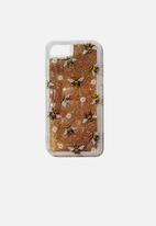 Typo - Shake it phone case universal 6,7,8 - bumble bee