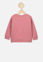 Cotton On - Sage crew - pink