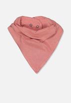 Cotton On - Cody bandana bib - pink