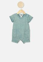Cotton On - Alby playsuit - green