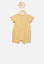 Cotton On - Alby playsuit - yellow