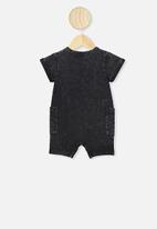 Cotton On - Alby playsuit - black
