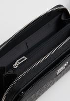GUESS - Modesto multi zip wrist - black