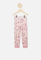 Cotton On - Florence long sleeve pj set - pink
