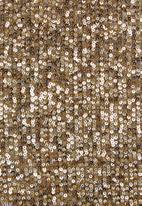 MILLA - Sequin bow top - bronze