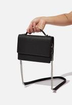 Rubi - Aria chain strap cross body bag - black