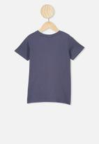 Cotton On - Lux short sleeve tee - navy