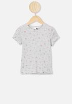 Cotton On - Billie tee - grey