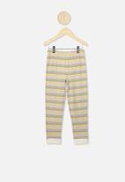 Cotton On - Orlando long sleeve pj set - beige