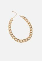 Rubi - Katie classic chunky chain necklace - gold